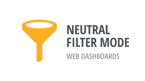 Web Dashboards - Neutral Filter Mode - Feedback Wanted!