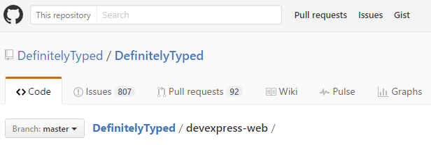 Use TypeScript with DevExpress ASP NET and MVC Controls (v16 1)
