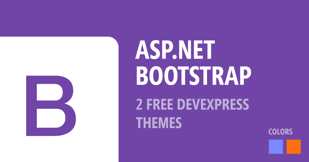 Free DevExpress Bootstrap 4 Themes
