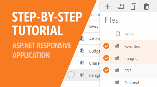 A Step-By-Step Tutorial for Building An ASP.NET Responsive Document Management Application