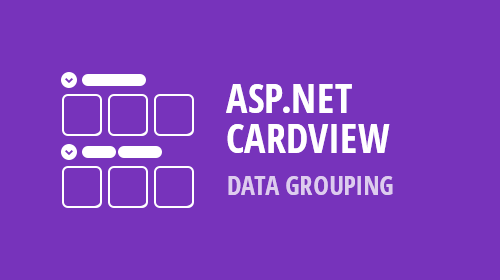 ASP.NET and MVC CardView - Grouping (v18.2)