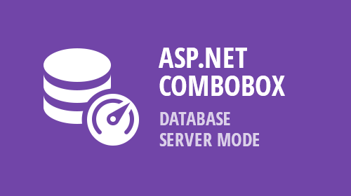 ASP.NET, MVC, and Bootstrap - ComboBox, ListBox, and TokenBox - Database Server Mode (v18.2)