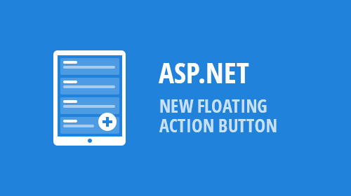 ASP.NET and MVC Editors - Floating Action Button (v18.2)