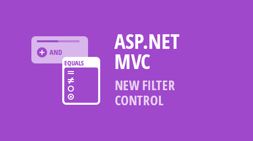 ASP.NET MVC - New Stand-Alone Filter Control (v18.2)