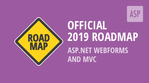 ASP.NET WebForms and MVC – 2019 Roadmap