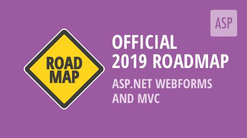 ASP.NET WebForms and MVC – 2019 Roadmap