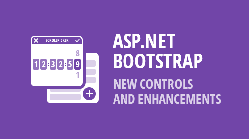 ASP.NET WebForms for Bootstrap - New Controls & Enhancements (v19.1)