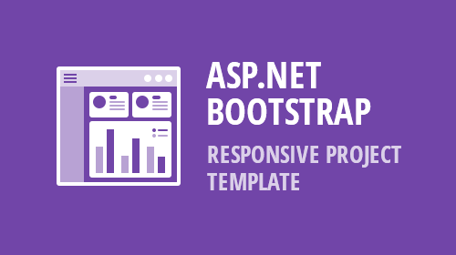 ASP.NET Bootstrap - Responsive Project Template (v19.1)