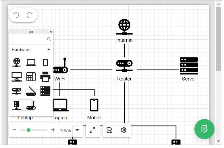 DevExpress ASP.NET Diagram - Custom Shapes
