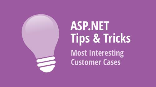ASP.NET WebForms and MVC - Tips & Tricks (December 2019)
