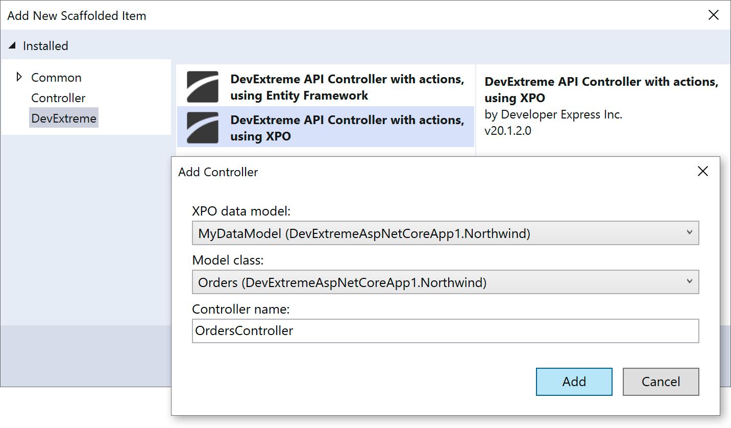 ASP.NET Core & MVC - New Visual Studio Integration Features (v20.1)