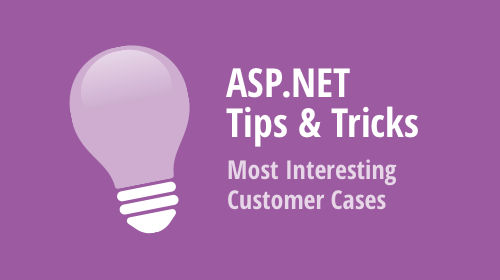 ASP.NET WebForms, MVC and Core - Tips & Tricks (February - March 2020)