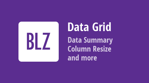 Data Grid for Blazor - Group and Total summary, Column Resize, Fixed Columns, and more (available in v20.2)