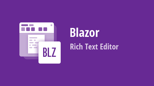 Blazor Rich Text Editor for Word, RTF, and Text document editing (available in v21.1)