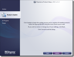Installer Ready To Update