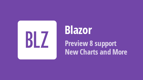 Blazor Components - New Charts, Data Grid Enhancements and more (available in Beta #2)