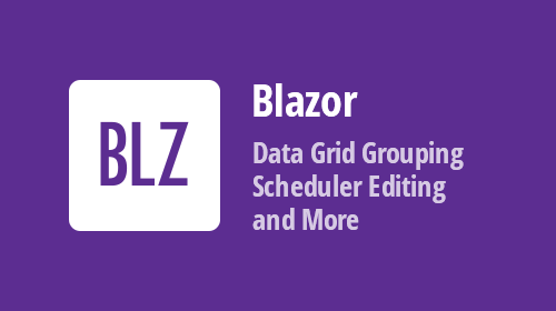 Blazor Components - DataGrid and Scheduler Enhancements (available in Beta #3)