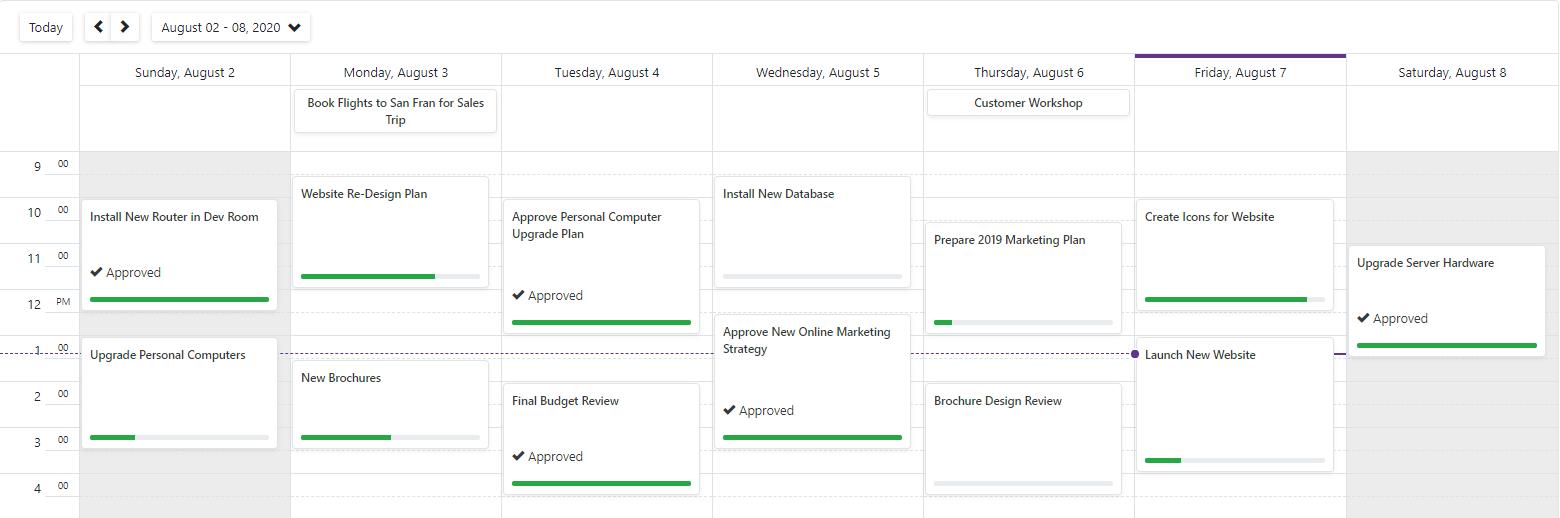 Blazor Scheduler Appointment Custom Fields
