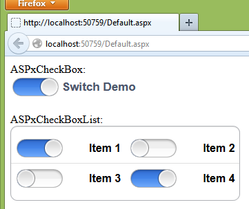 How To Customize DevExpress ASP NET Check Box control for