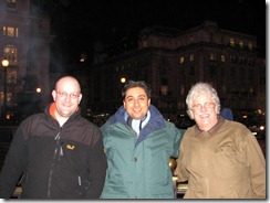 Oliver, Mehul & John in London