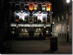 The Sherlock Holmes Restaurant
