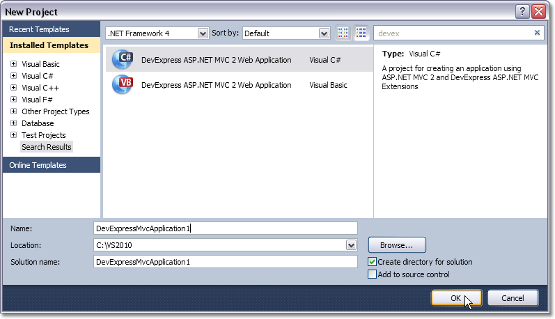 2 visual studio mvc 2012 for download
