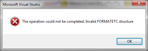 VS_FormatEtc_error