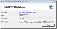 ASP.NET Development Server