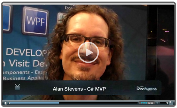 Video Chat: Alan Stevens @ TechEd