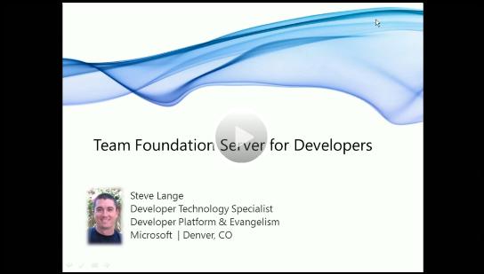 Video: Team Foundation Server for Developers