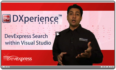 Video: Search DevExpress In Visual Studio