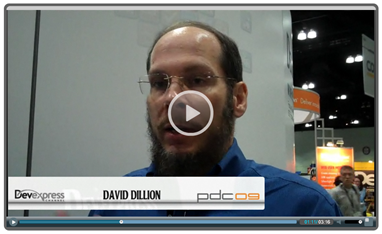 PDC 2009: Video Chat w/David Dillion