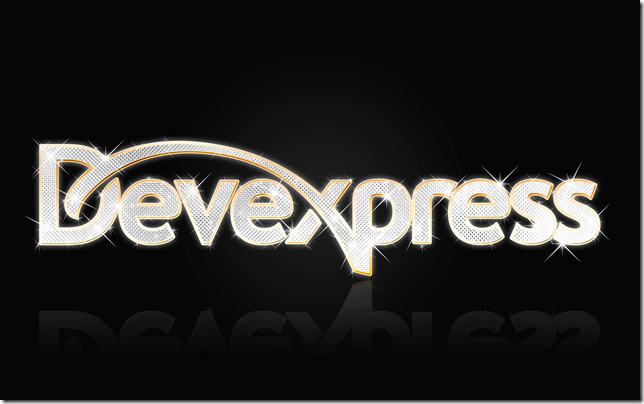 DevExpress Bling Background Image