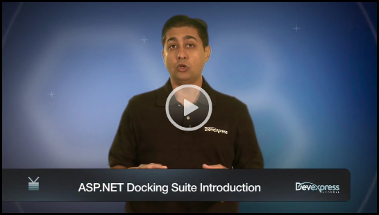 DevExpress ASP.NET Docking Suite