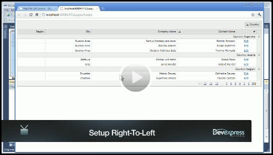 ASP.NET Controls - Setup Right-To-Left