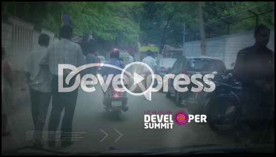 Video: DevExpress in India GIDS