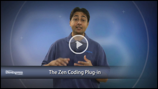 Video: CodeRush Zen Coding plugin