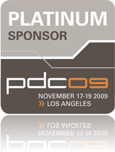 DevExpress PDC 2009 Platinum Sponsor
