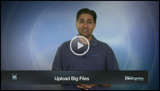 Video: ASP.NET Upload Large Files