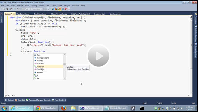 Webinar: MVC GridView - Setup Multi-Row and Instant Updates