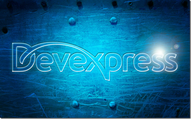 DevExpress Blue Background Image