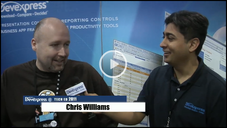 Chris Williams TechEd Video Interview