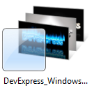 DevExpress Windows 7 Theme Pack