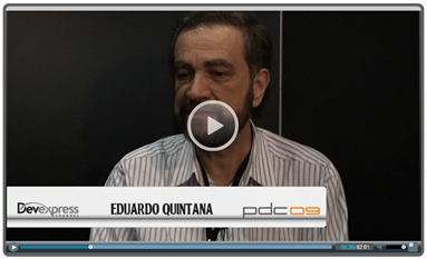 PDC 2009: Video Chat w/Eduardo Quintana