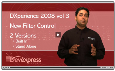 ASPNET Filter Control movie