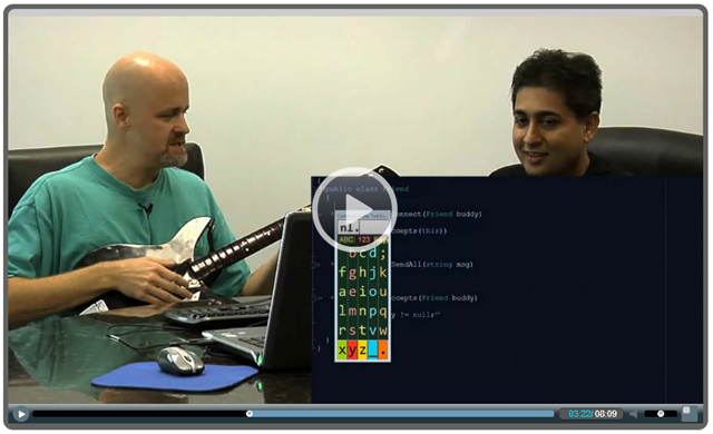 Video: Guitars and Code With Mark and Mehul