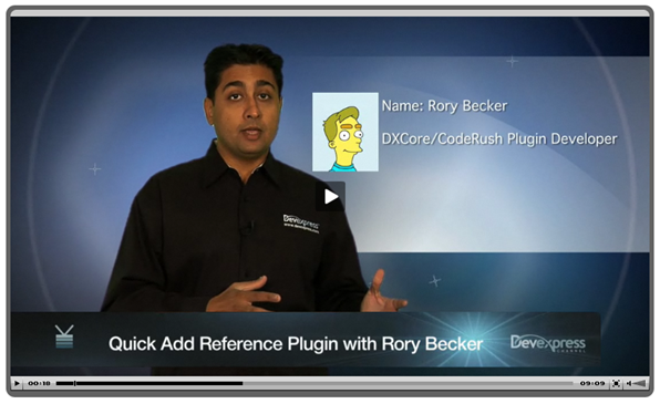 Video: Visual Studio Quick Add Reference Plugin