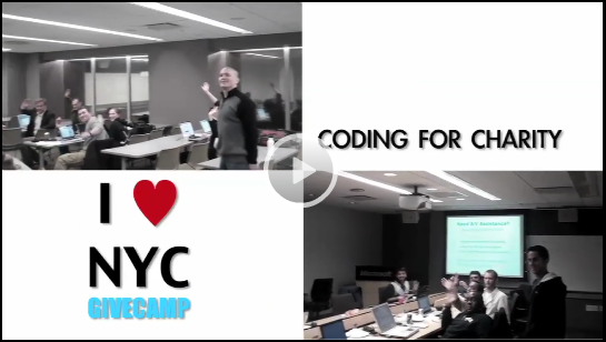 2011 DevExpress NYC GiveCamp Recap