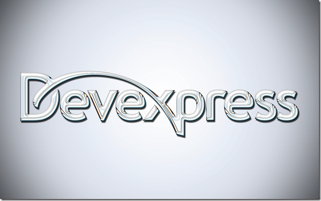 DevExpress Silver Background Image