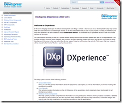 New DevExpress documentation website